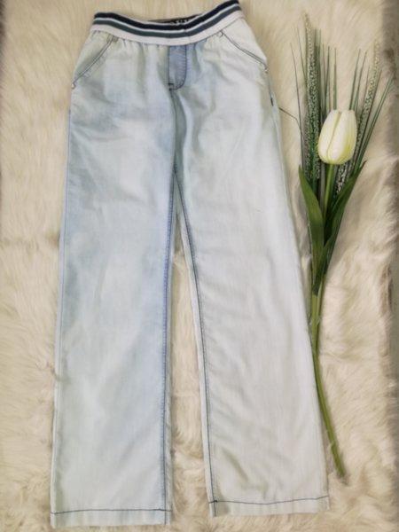 Дамски дънки с ластик